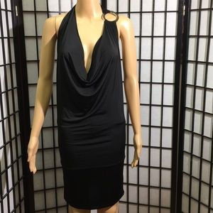 Body Central Sexy Little Black Dress Size L NWT
